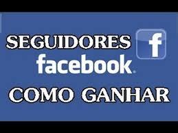 seguidores no facebook