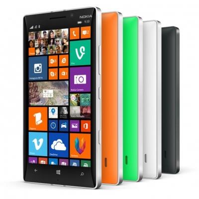 Nokia Lumia 930 varias cores