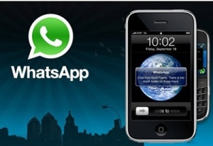 sistema android e aplicativo whatsapp