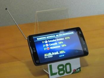 tela smartphone lg l80