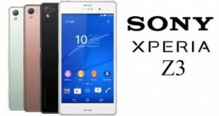 lançamento 2015 smartphone sony xperia z3
