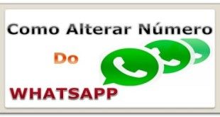 saiba como alterar o numero celular no whatsapp