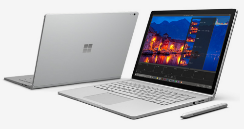 notebook Microsoft Surface Livro