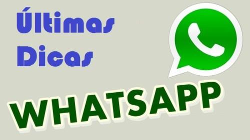 dicas e segredos aplicativo whatsapp
