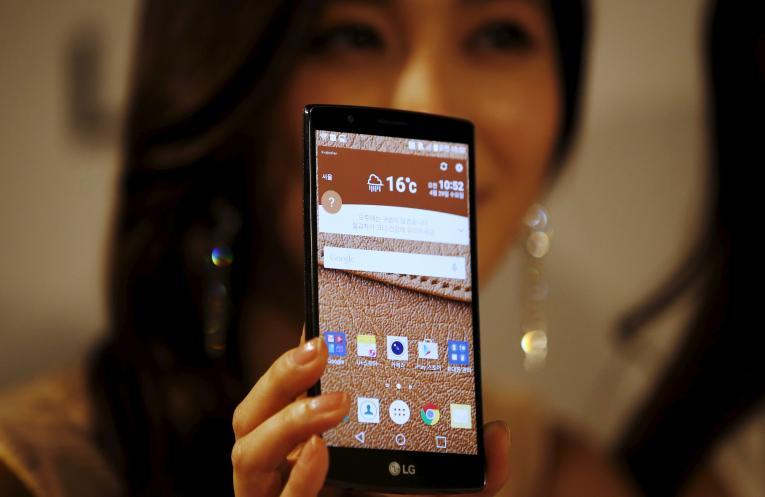 novo smartphone lg v10
