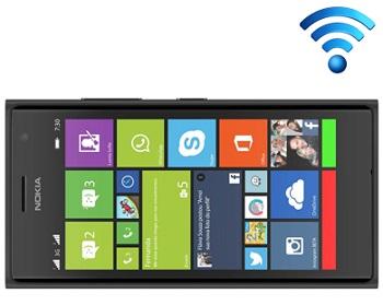 samrtphone nokia lumia 730 Conectividade Wi-Fi e 3G