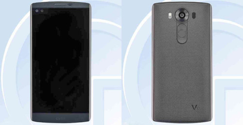 smartphone lg v10 tela e camera
