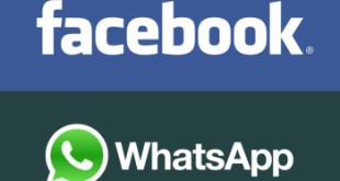 aplicativo facebook e whatsapp