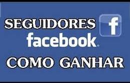 como ganhar seguidores no facebook